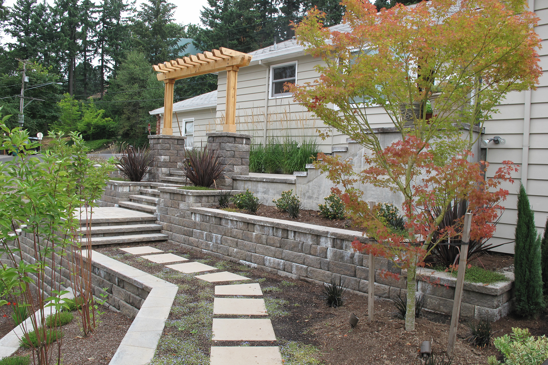 Metal Retaining Walls