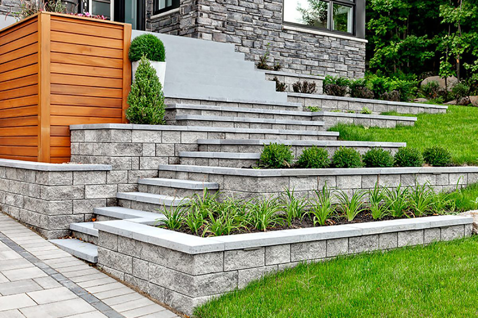 Retaining Wall Ideas Cheap Materials for Constructing One